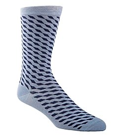 Cole Haan® Men's Angled Cubed Dress Socks