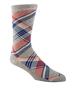 Cole Haan® Men's Angle Plaid Dress Socks