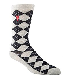 Cole Haan® Men's Pinch Argyle Dress Socks