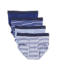 Hanes® Men's 4-Pack Blue Label Briefs