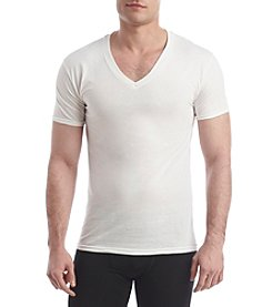 Hanes® Men's Bluelabel 4-Pack Slim V-Neck Undershirts