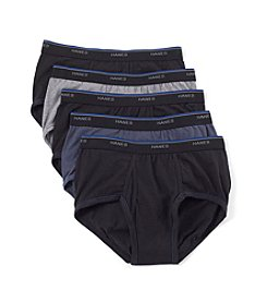 Hanes® Men's 4-Pack Blue Label Comfort Dyed Briefs