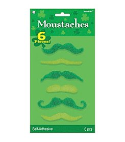 St. Patrick's Day Pack of 6 Green Mustaches