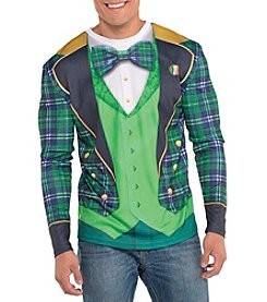 St. Patrick's Day Men's Long Sleeve Top