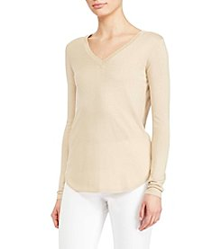 Lauren Ralph Lauren® V-Neck Sweater