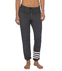 Betsey Johnson Performance® Logo Stripe Icy Wash Pants
