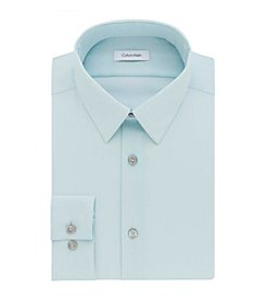 Calvin Klein Men's Big & Tall Solid Dress Shirt