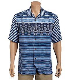 Tommy Bahama® Men's Mezantine Square Short Sleeve Button Down