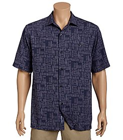 Tommy Bahama® Men's Thatch Of The Day Short Sleeve Button Down