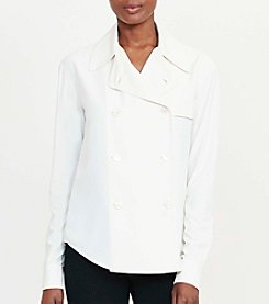 Lauren Ralph Lauren® Double-Breasted Shirt