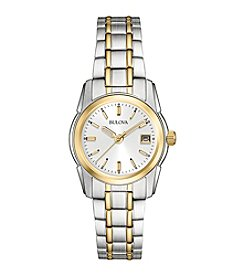 Bulova® Women's Classic Two Tone Bracelet Watch