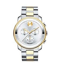 Movado® Men's 44mm Two-Tone Stainless Steel Chronograph Watch