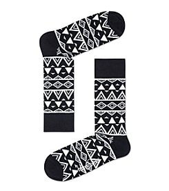 Happy Socks® Men's Abstract Casual Socks