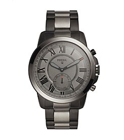 Fossil® Hybrid Smartwatch - Q Grant Smoke Stainless Steel