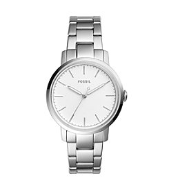 Fossil® Women's 34mm Silvertone Neely Watch
