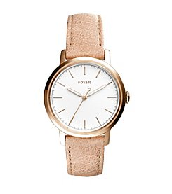 Fossil® Women's 34mm Neely Watch with Leather Strap