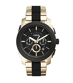 Fossil® Men's 45mm Machine Chronograph Watch