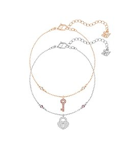 Swarovski® Crystal Wishes Key Bracelet Set