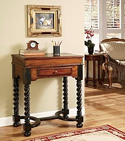Hooker® Furniture Jacobean Twist Leg Flip Top Writing Desk