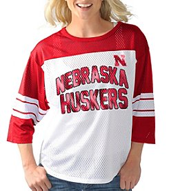G III NCAA® Nebraska Cornhuskers Women's  First Team Jersey