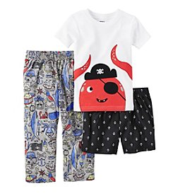 Carter's® Boys' 3-Piece Octopus Pajama Set