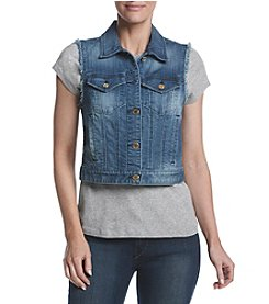 MICHAEL Michael Kors® Frayed Denim Vest