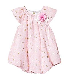 Cuddle Bear® Baby Girls' Hearts Bubble Dress