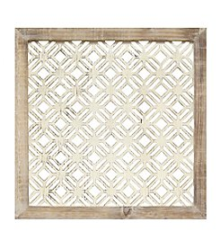 Stratton Home Decor Framed Laser-Cut Wall Decor