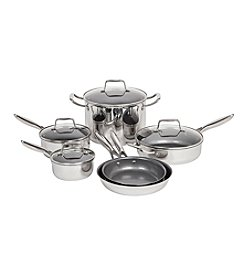 Maker Homeware™ 10-pc. Stainless Steel Cookware Set