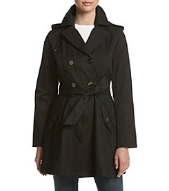 Laundry® Fit And Flare Trench Coat