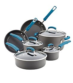 Rachael Ray® Hard-Anodized Aluminum Nonstick 10-Piece Cookware Set