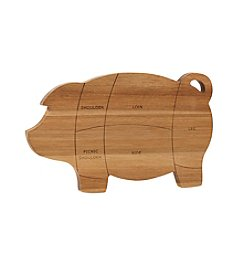 Paula Deen® Pantryware Wooden Pig Cutting and Serving Board