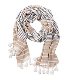 Collection 18 Oceanside Stripe Wrap