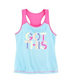Exertek® Girls' 7-16 Graphic Racerback Tee