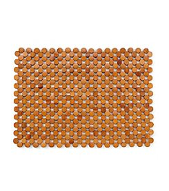 LivingQuarters Bamboo Beaded Placemat