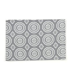 LivingQuarters Circle Print Placemat