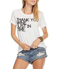 Chaser® Thank You Wine Just In Time Tee