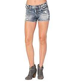 Silver Jeans Co. Berkley Destructed Shorts