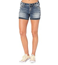 Silver Jeans Co. Elyse Cuffed Shorts