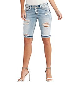 Silver Jeans Co. Suki Destructed Bermuda Shorts