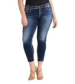 Silver Jeans Co. Plus Size Avery Ankle Skinny Jeans