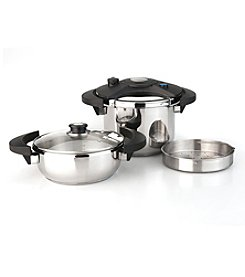 BergHoff® Eclipse 5-pc. Pressure Cooker Set
