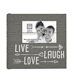 MKT@Home Live Laugh Love Arrows Photo Album