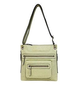 GAL Vegan Tan Multi Pocket Crossbody