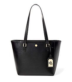 Lauren Ralph Lauren® Newbury Collection Halee II Saffiano Leather Shopper