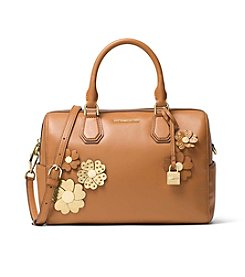 MICHAEL Michael Kors KORS STUDIO Floral Applique Mercer Medium Duffle