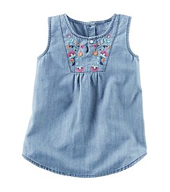Carter's Girls' 2T-8 Denim Tunic