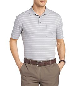 Van Heusen® Men's Stripe Interlock Polo