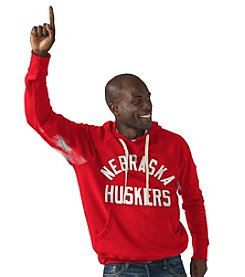G III NCAA® Nebraska Cornhusker Men's Long Sleeve Motion Hoodie