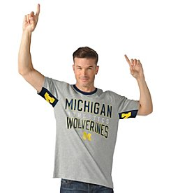G III NCAA® Michigan Wolverines Men's Cutback Tee
